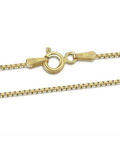 Premium Gold Plated Box Chain
