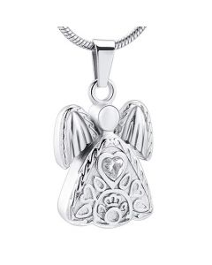 Angel - Stainless Steel Cremation Ashes Jewellery Pendant