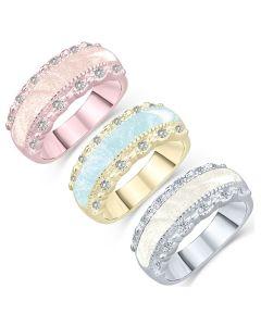 LifeStone™ Honour Ladies Cremation Ashes Ring