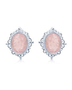 LifeStone™ Ladies Victorian Classic Cremation Ashes Earrings