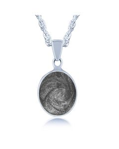 LifeStone™ Perfect Oval Cremation Ashes Pendant