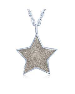 LifeStone™ The Brightest Star Cremation Ashes Pendant