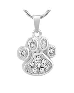 Perfect Paw - Stainless Steel Pet Cremation Ashes Memorial Pendant