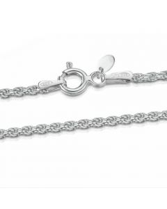 Premium Sterling Silver Rope Chain