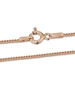 Premium Rose Gold Plated Curb Chain