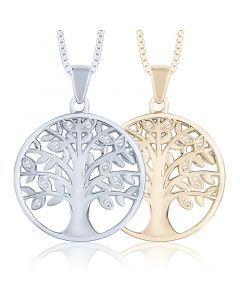 Tree of Life Cremation Ashes Memorial Pendant