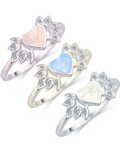 LifeStone™ Ladies Winged Heart Cremation Ashes Ring